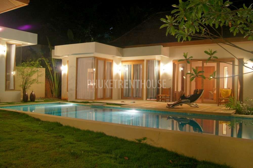 CHA1075 Elegant 3 Bedroom Bali Style Pool Villa In