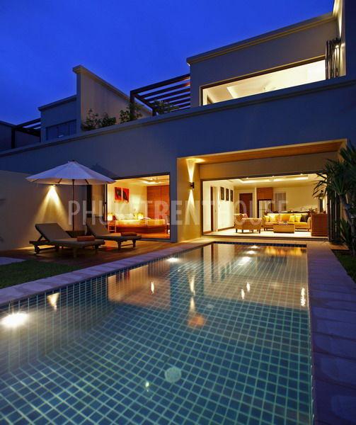 Suitability. BAN8124  2 Bedroom Duplex Pool Villa  Residence Bangtao Beach