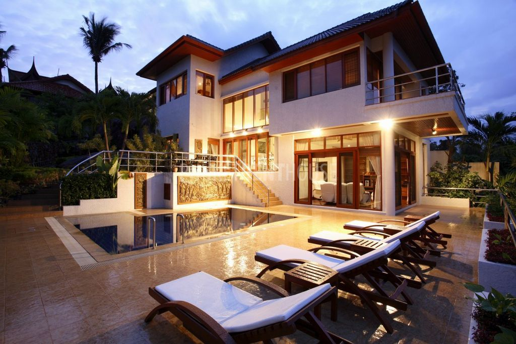 5 Bedroom House For Rent Impressive Pat9791 Luxury 5 Bedroom Sea View Villa In Patong  Phuket Rent House Design Ideas