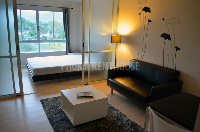 Kth10297 patong studio bedroom 1 bathroom phuket rent house for Studio 1 bedroom apartments rent