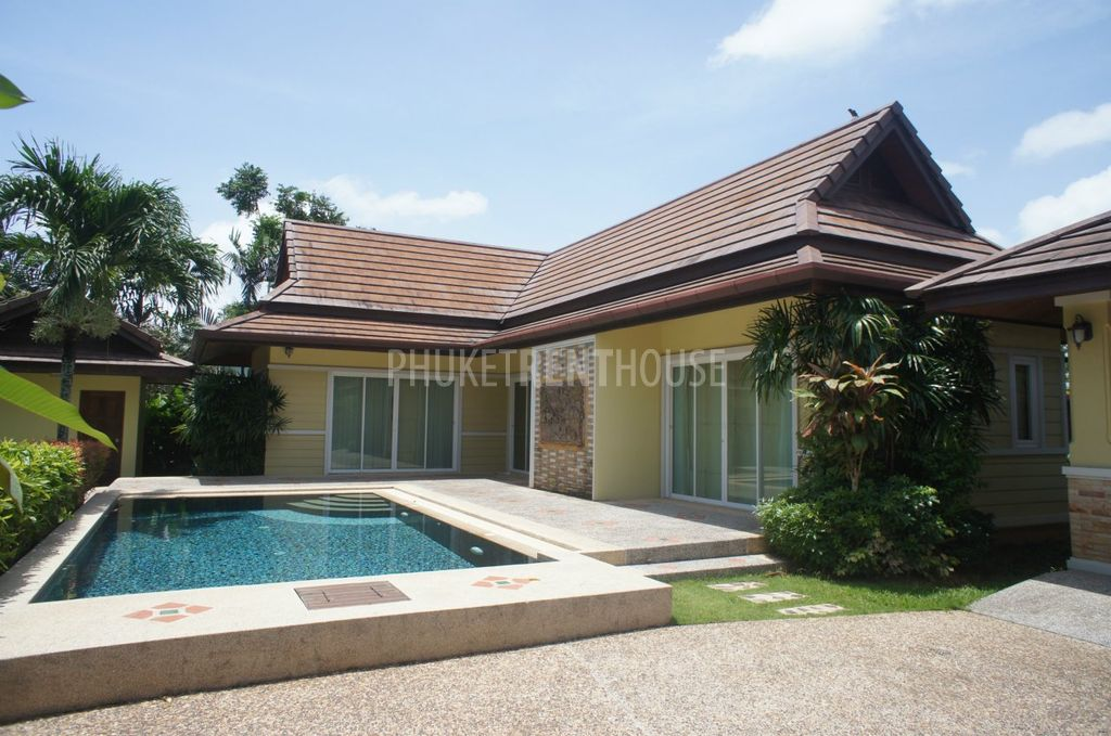 Che11021 2 Bedroom House With Private Pool For Rent Phuket Rent House