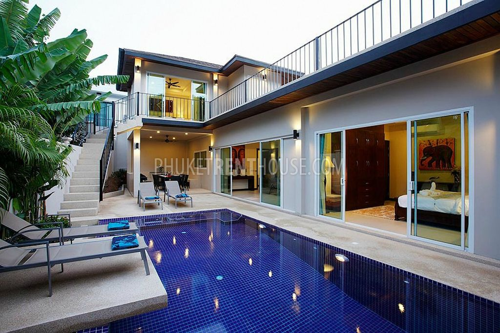 Nai11624 Luxury 5 Bedroom Villa With Private Pool Next Door To Nai Harn Beach Phuket Rent House