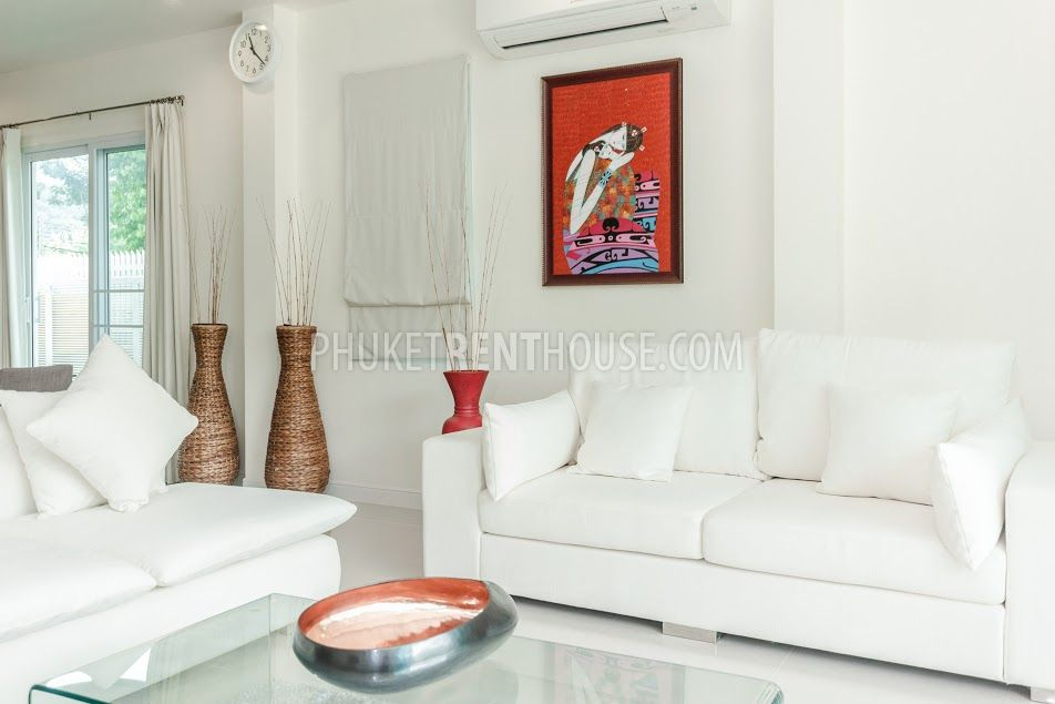 Cha11502 Luxury Modern House With Private Pool In Chalong Phuket Rent House