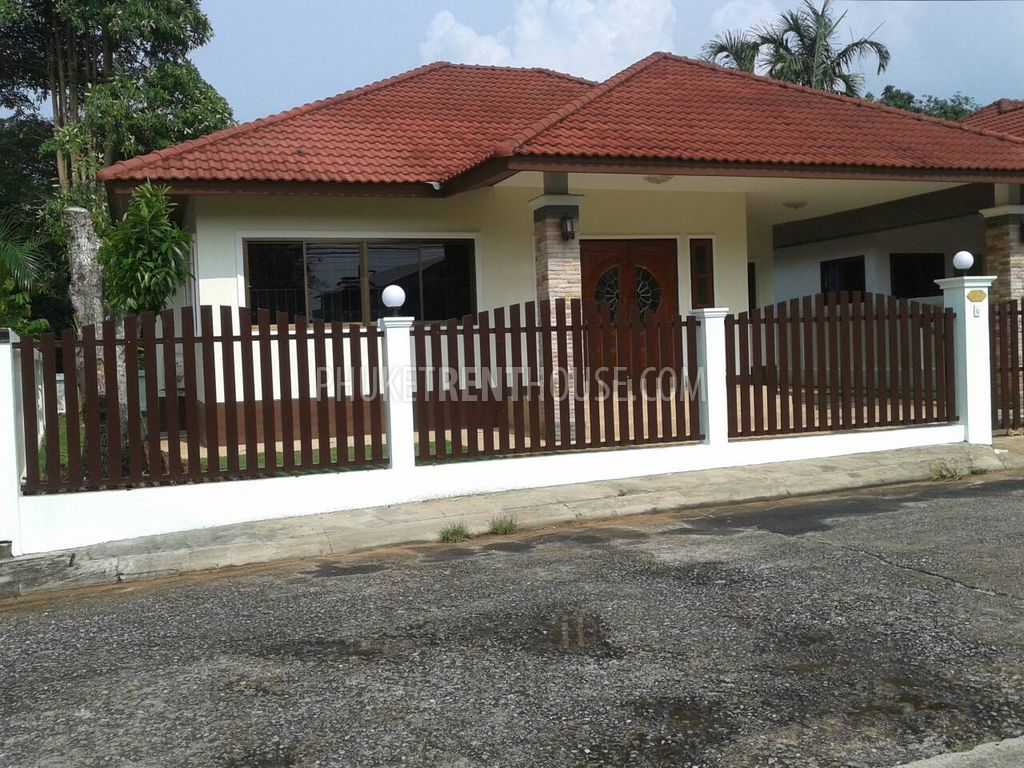 Che12044 3 Bedroom House For Rent In Cherngtalay Phuket