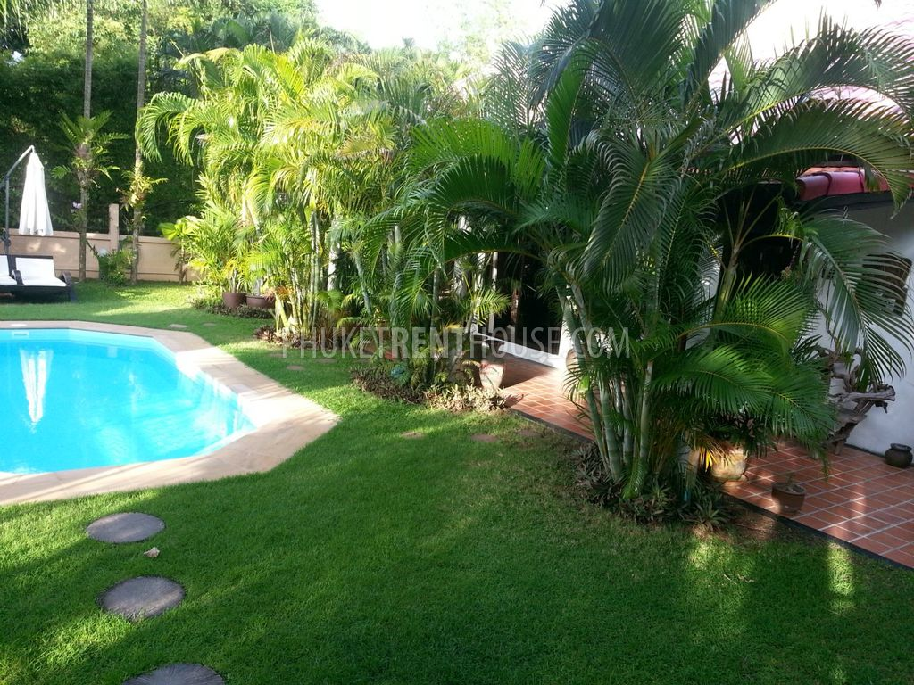 Nai12108 Cozy Swimming Pool Villa With 2 Bedrooms Phuket Rent House