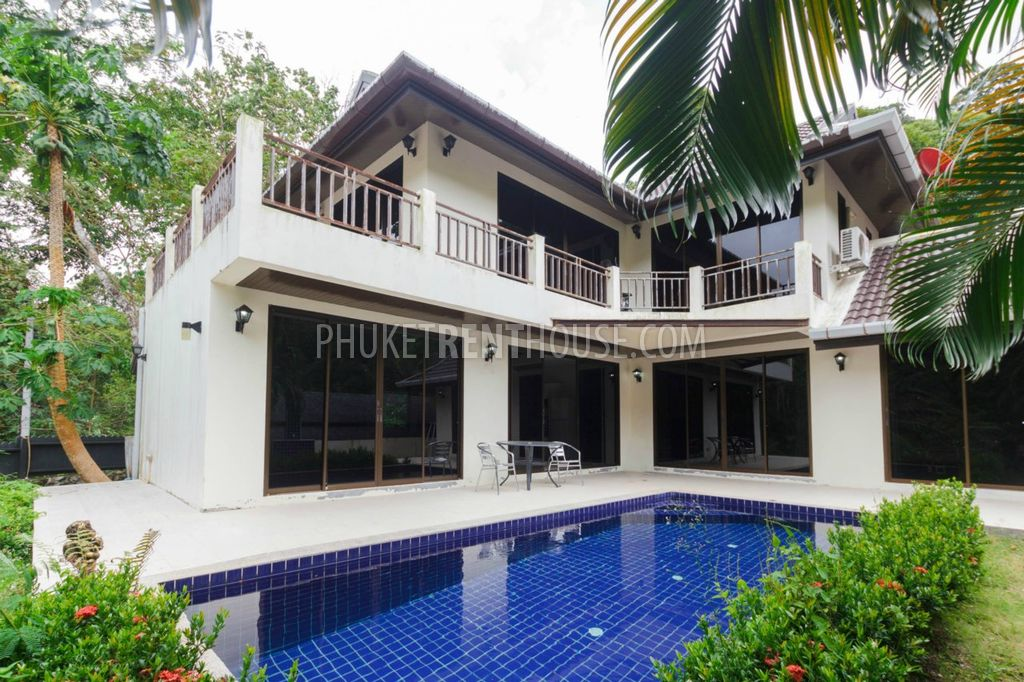 Kth12177 4 bedroom house with private pool in kathu for Four bedroom house with pool