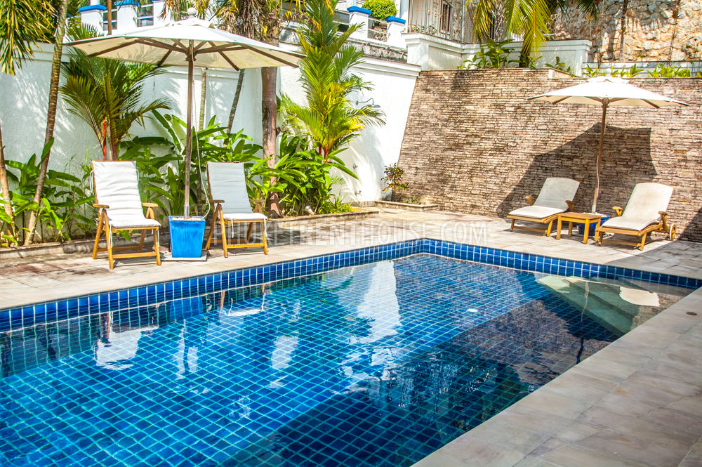 Kat12218 3 bedrooms villa with private pool near kata - Houses to rent in uk with swimming pools ...