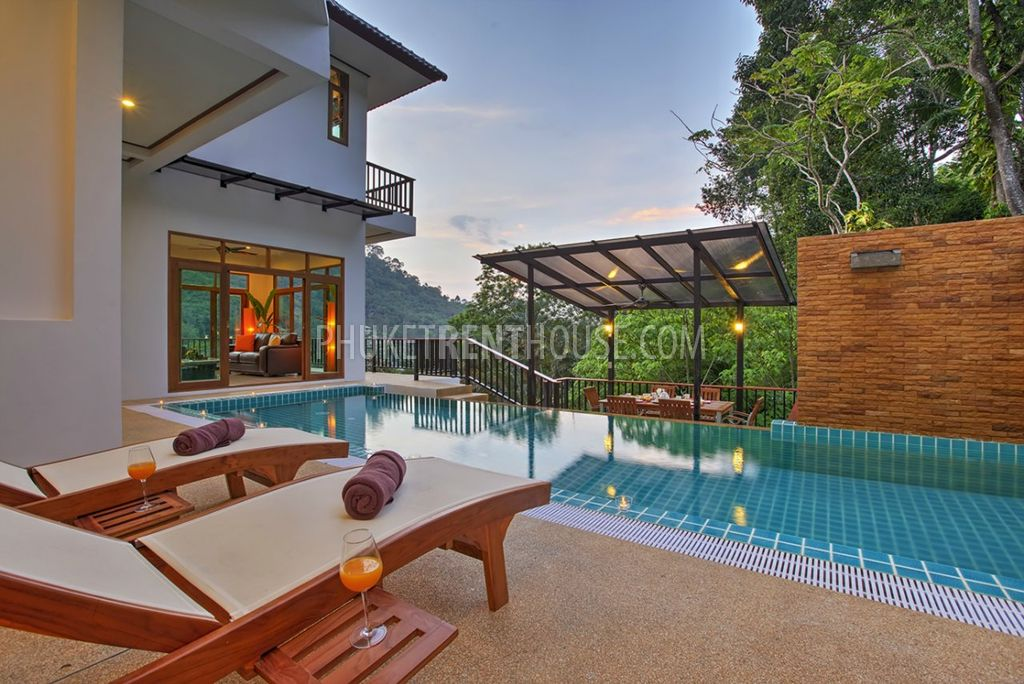 Pat12250 Spacious 7 Bedroom Pool Villa In Patong Phuket Rent House