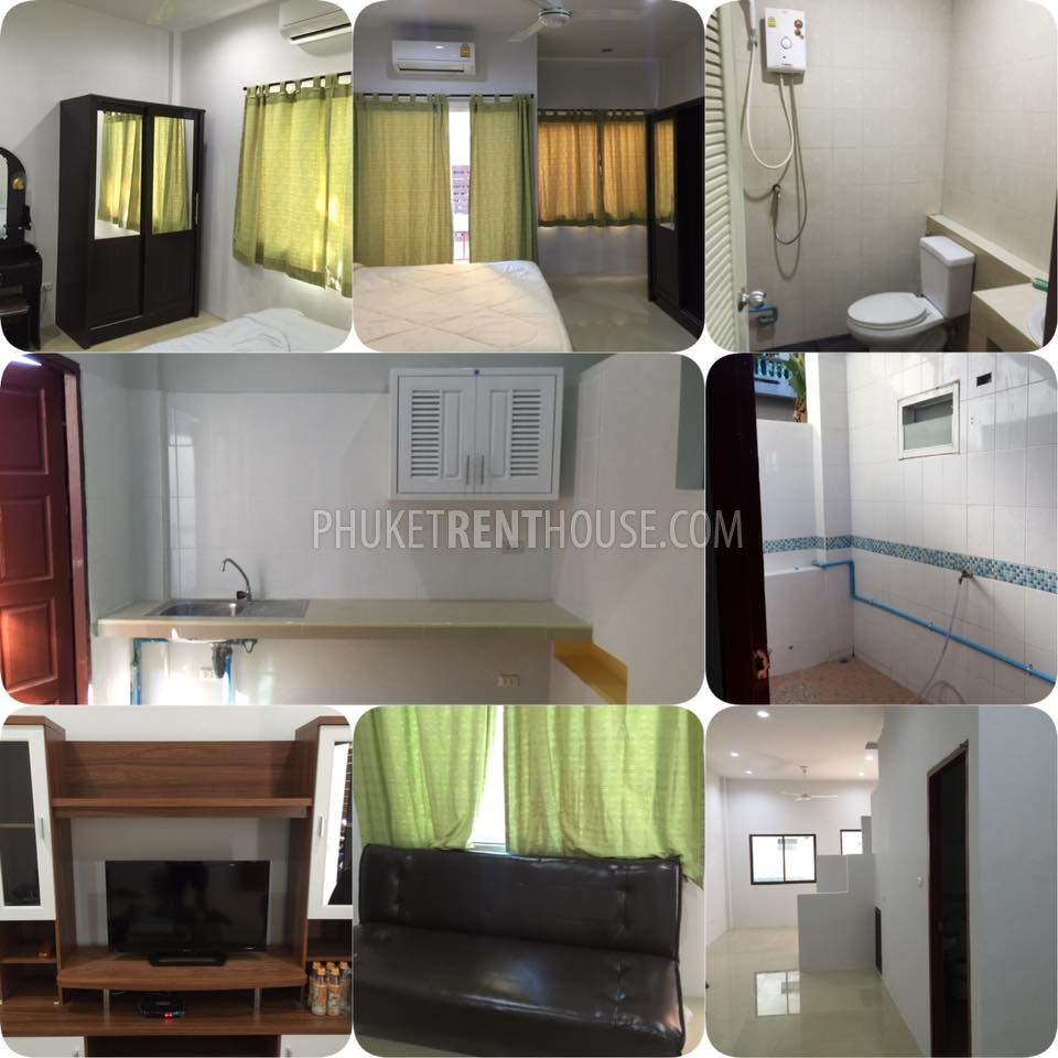 pat12360 2 bedroom 2 storey house in patong in nanai road house for rent