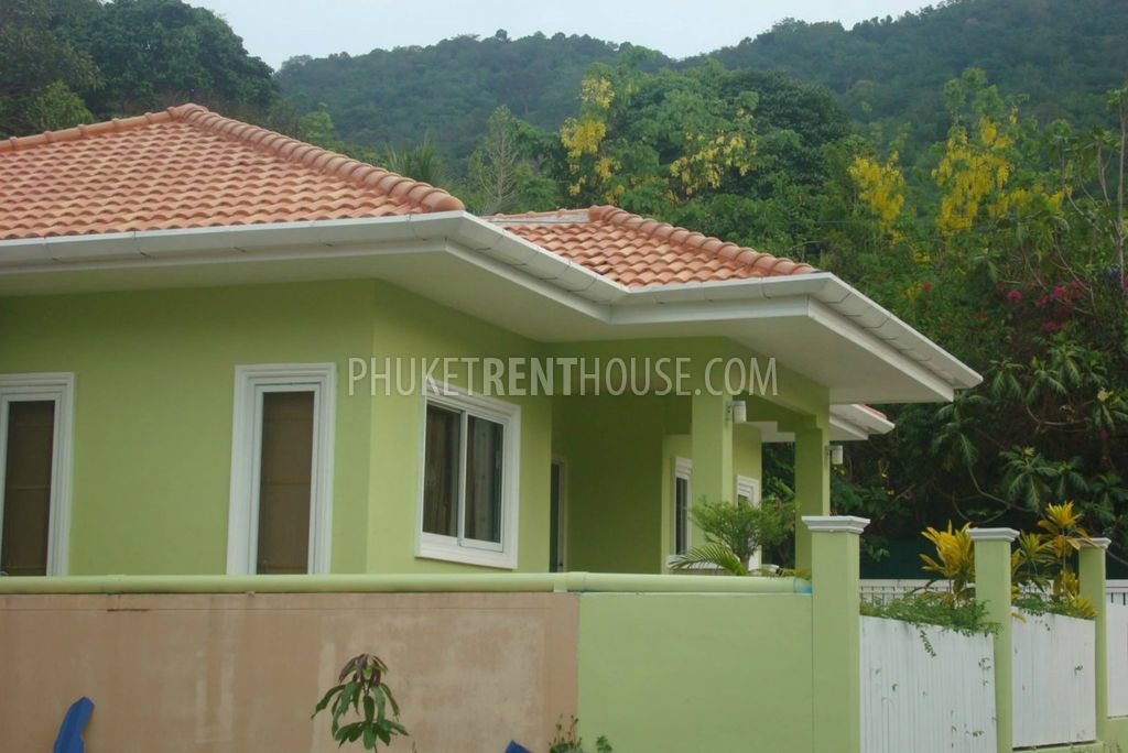 Ban12378 Two Bedroom House In Bangtao Phuket Rent House