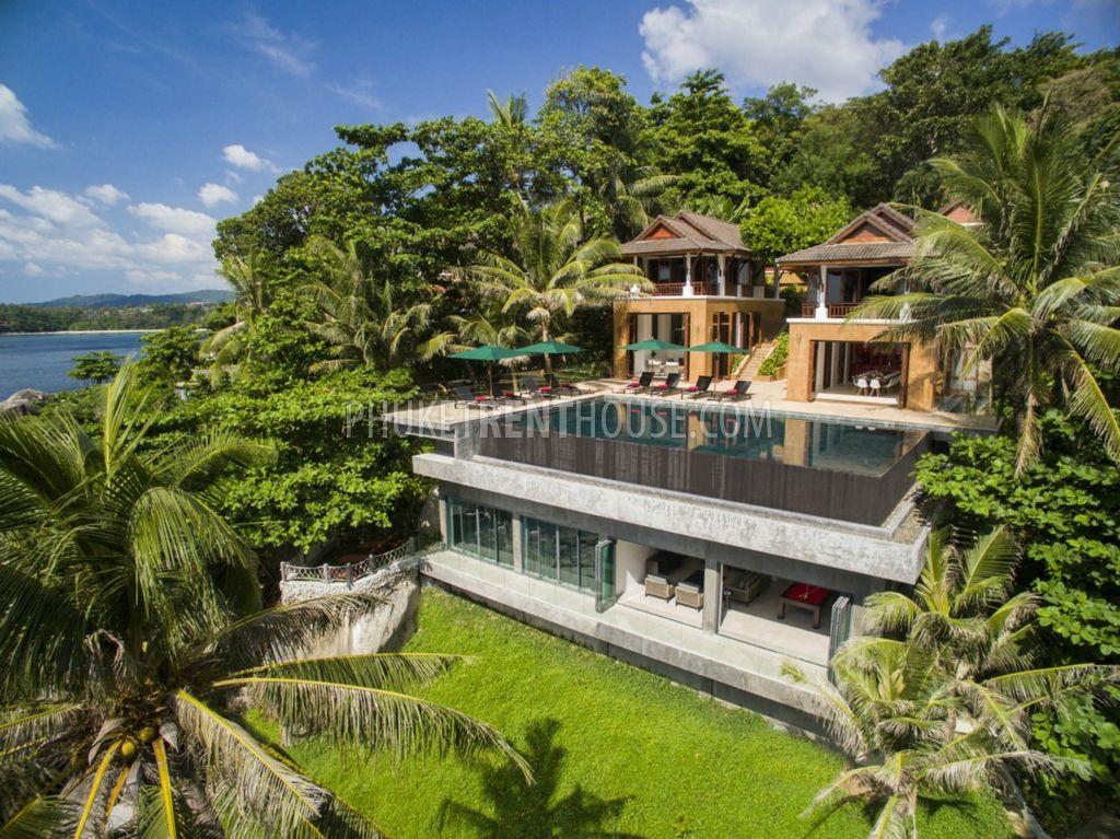 An Ocean Front Luxury 8 Bedroom Villa In 5 Minute Walk To Kata Beach Phuketrenthouse Com