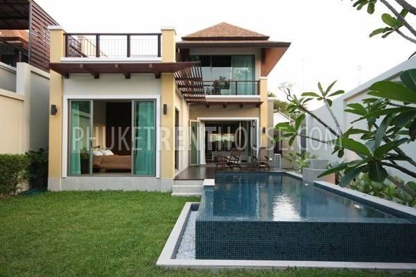 Che12478 two storey pool villa 3 bedrooms 3 bathrooms for 3 bedroom house with pool
