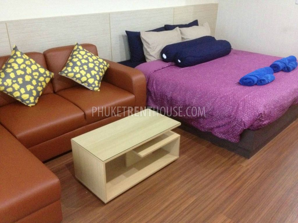 KTH12492: Studio room condo close to Makro Kathu - Phuket Rent House