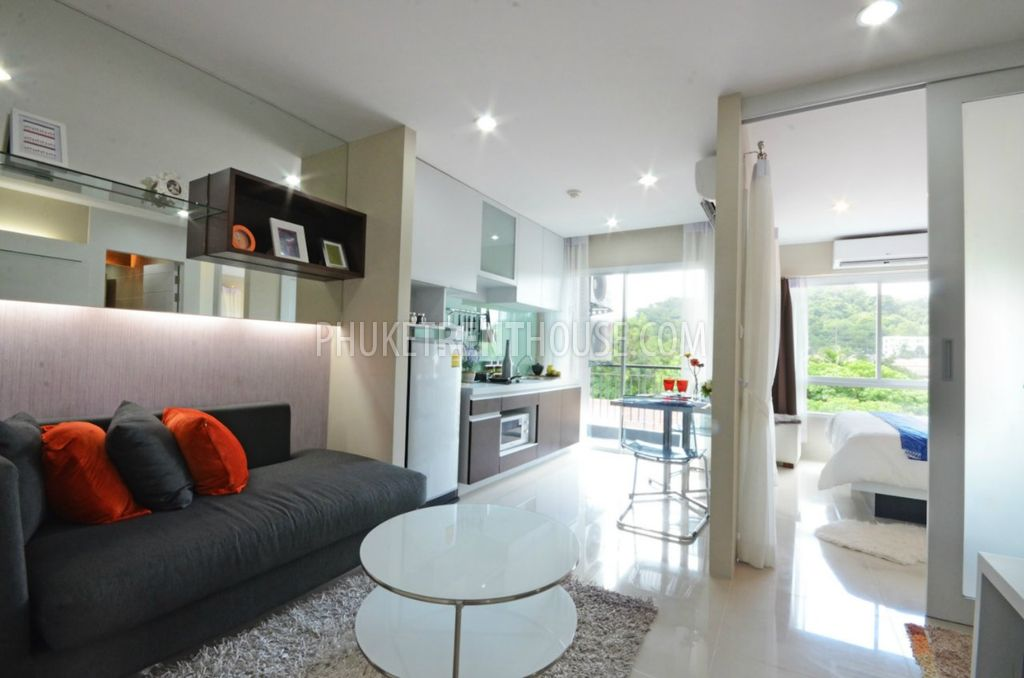 Kth12591 Kathu Phuket Codominium For Rent 1 Bedroom Kitchen Phuket Rent House