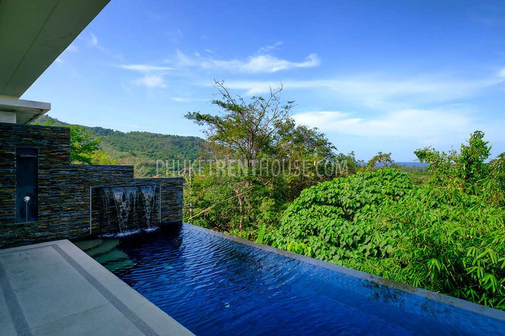 Nat13195 2 Bedroom Pool Villa With Sea View In Naithon Beach Phuket Rent House