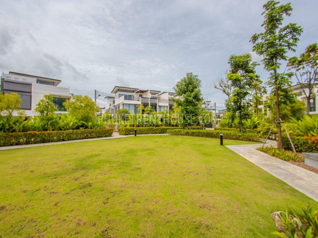 BAN13859: Cozy 3 Bedroom Townhouse with big Garden near Bang Tao ...