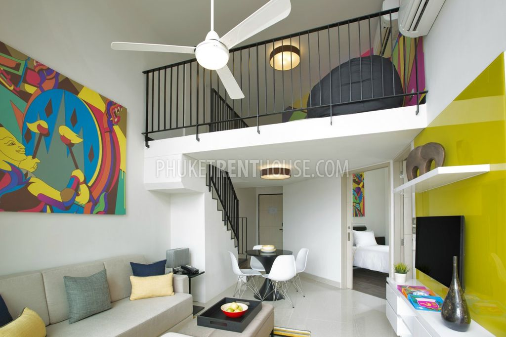 2 Storey Apartment With Loft Style At New Apart Hotel 2 Bedrooms Phuketrenthouse Com