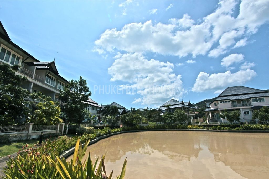View on the lagoon at Phuket Private Lagoon project