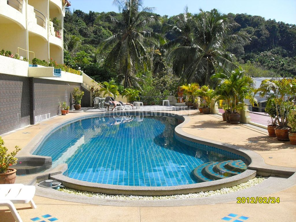 Kat2871 Kata 1 Bedroom Apartment With Sea View And Swimming Pool Phuket Rent House