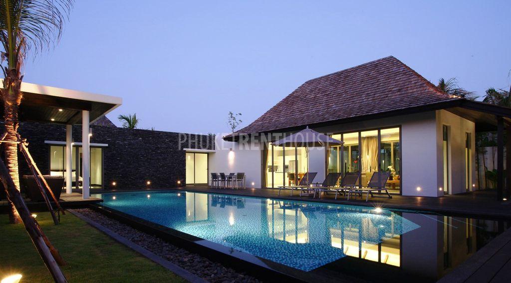 LAY2968 Modern Bali Style 3 Bedroom Pool Villa In Layan