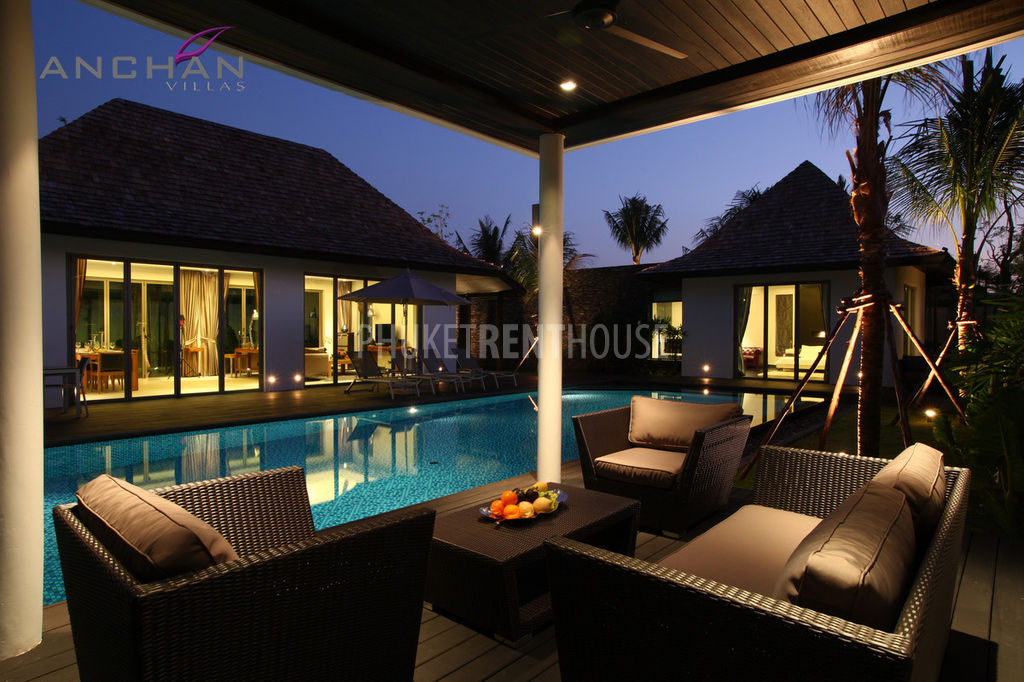 Lay2968 Modern Bali Style 3 Bedroom Pool Villa In Layan