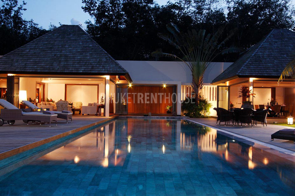 Lay3239 Luxury 5 Bedroom Pool Villa In Layan Beach Phuket Rent House