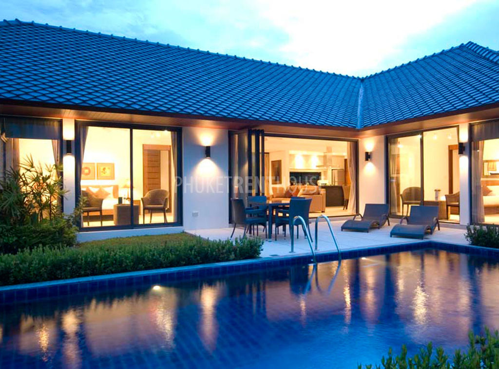 Raw3690 2 bedroom contemporary thai style pool villa - Houses to rent in uk with swimming pools ...