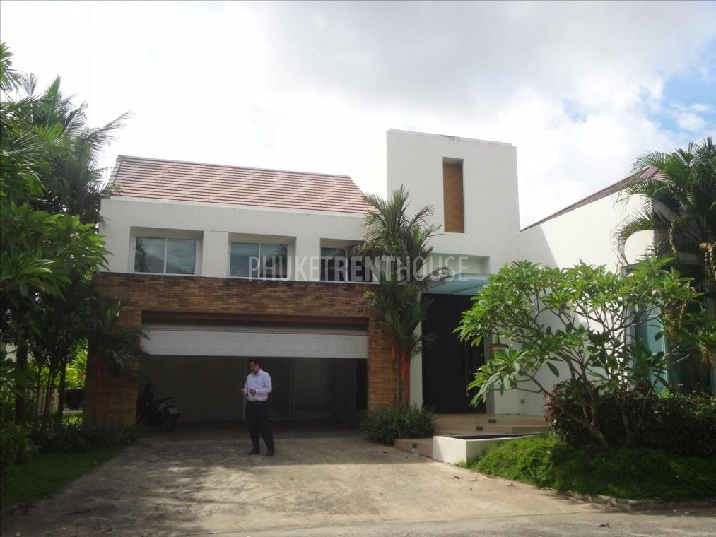 Phu3785 villa for rent british school 5 bedrooms for Modern house rental