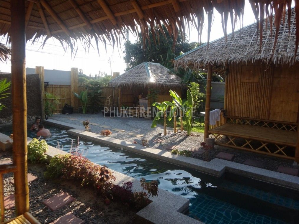 Raw3881 Bamboo Bungalow For Rent Short And Long Term In Rawai With Pool Phuket Rent House