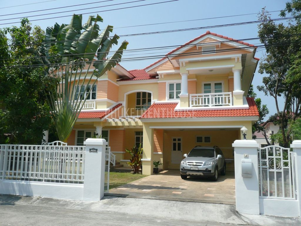 Cha4602 House In Phuket At Land And Houses Park In