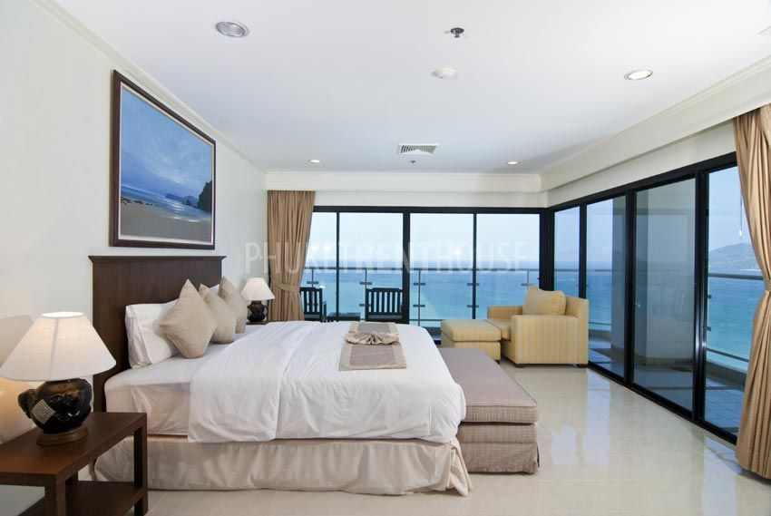 Pat6118 patong tower 3 bedrooms sea view phuket rent - 3 bedroom condos for rent near me ...
