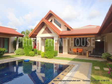 3 bed Pool Villa, in Cherng Talay