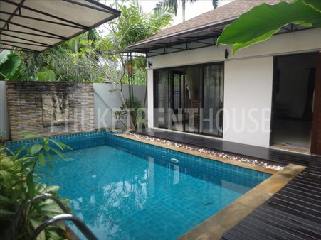 2 bed pool villa for rent, in Nai Harn