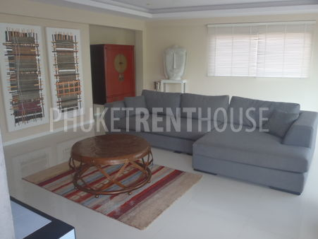 open plan view of lounge room