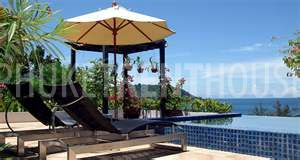 Roof top deck, gazebo and pool with stunning views over Kata Noi and the Andaman...breath taking sunsets...