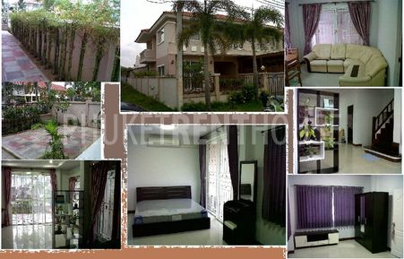 TOWNHOUSE For rent. ( DusitBuri Village , Near Supercheap)