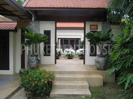 The opening of your private villa, hidden behind double doors.