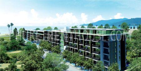 Resort on the Patong beachfront