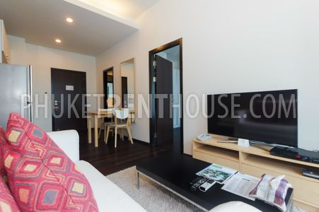 one bed apartment overlooking the sea in Phuket in Rawai