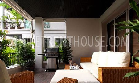 The large comfortable terrace, with sofa and BBQ