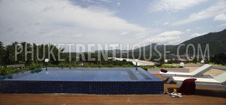 Rooftop terrace with sun loungers, private pool, sundeck and gazebo....