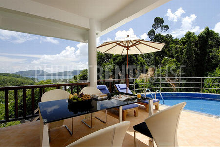 Privacy and calm at your Patong villa for rent just minutes from the centre of Patong