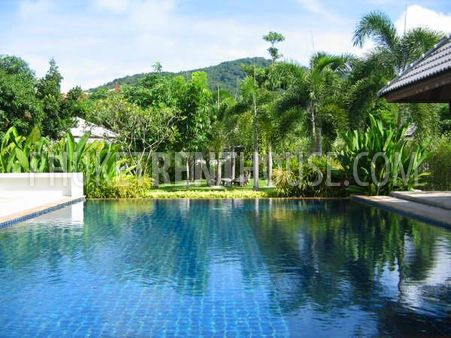 villa with community pool Phuket