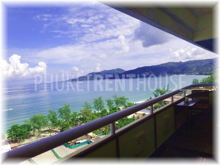 Seaview fron the balcony