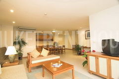Living room Phuket condo for rent