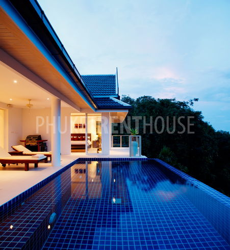 Andaman View, private infinity edge swimming pool and 180 degree stunning sea views!