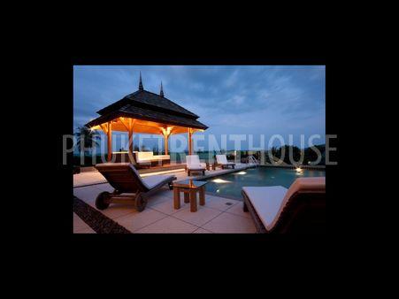 Villa a louer, 3 chambres, a Nai harn, piscine privee, vue mer