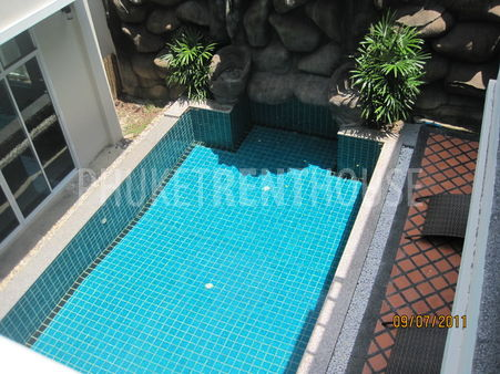 All room open to swimming pool.