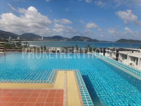 2 bed apart, private pool, Patong, sea view