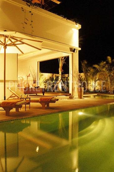 Lounge at night